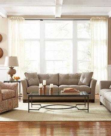 Michelle Fabric Sofa Living Room Furniture Furniture Macy 39 S