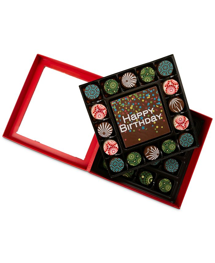 Chocolate Works - 33-Pc. Birthday Confetti Chocolate Truffles