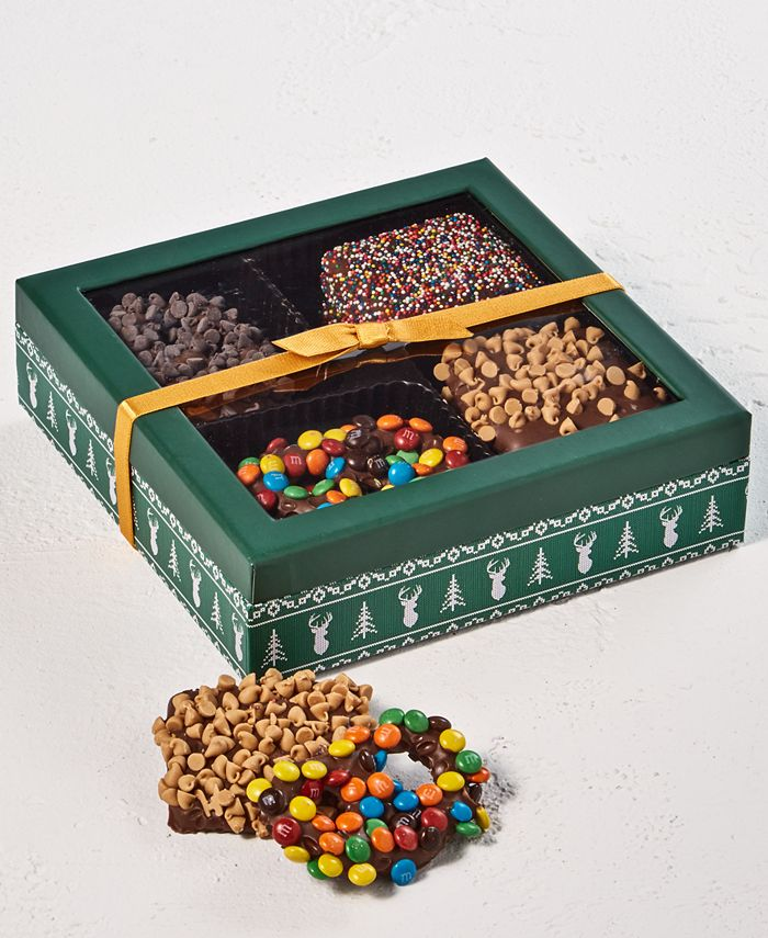 Chocolate Works - 12-Pc. Pretzels & Graham Cracker Gift