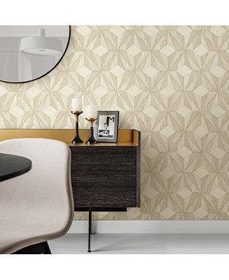 A Street Prints 21 X 396 Paragon Geometric Wallpaper Reviews All Wall Décor Home Decor Macy S