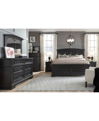 Townsend  Bedroom Furniture, 3-Pc. Set (California King Bed, Nightstand & Chest)