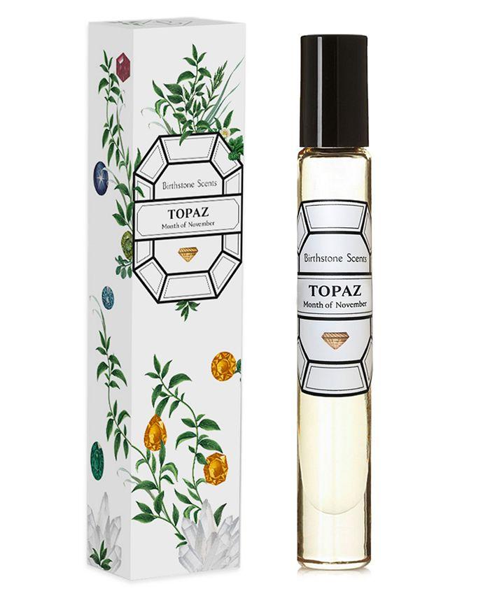 Birthstone Scents - Topaz Perfume Oil Rollerball, 0.27-oz.