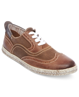 Steve Madden Mens Shoes Henry WingTip Sneakers Mens Shoes