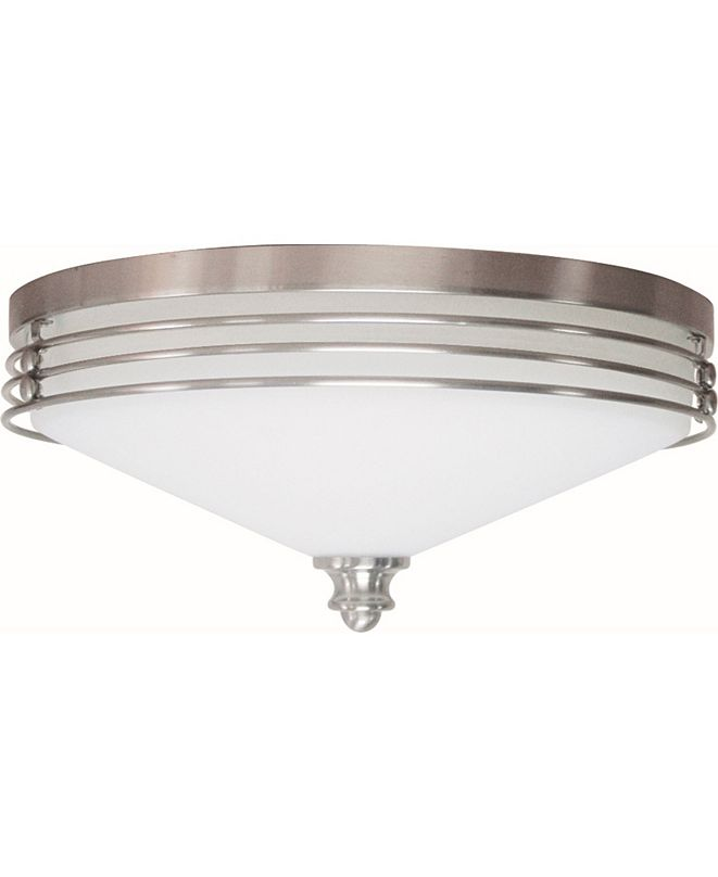 Volume Lighting Avila 2-Light Flush Mount Ceiling Fixture