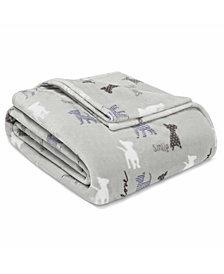ED Ellen Degeneres Augie and Friends Ultra Soft Plush Blanket, Twin