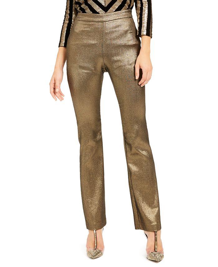 INC International Concepts - Metallic Bootcut Pants