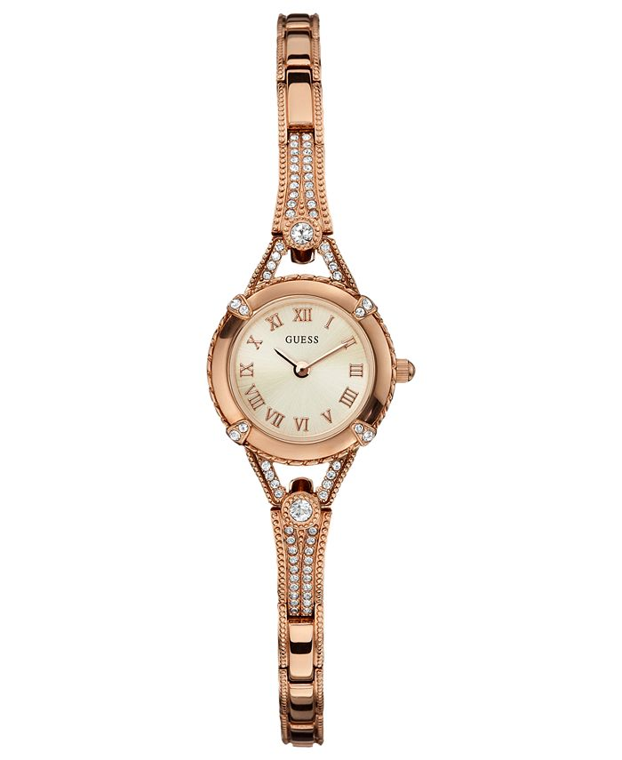 GUESS - Watch, Women's Rose Gold Tone Bracelet 22mm U0135L3