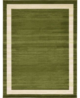 Lyon Lyo5 Green 6' x 9' Area Rug