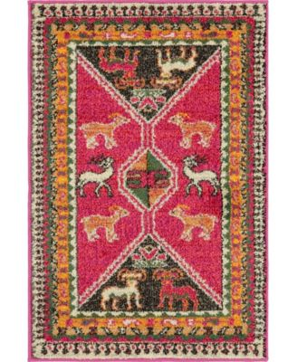 CLOSEOUT! Arcata Arc7 Pink 4' x 6' Area Rug