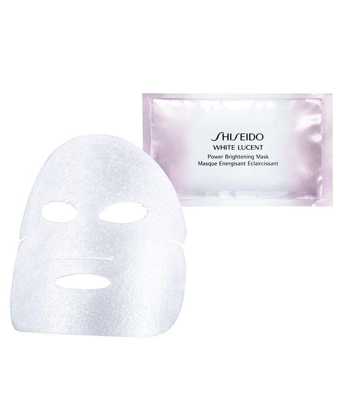 Shiseido - White Lucent Power Brightening Mask, 6 count