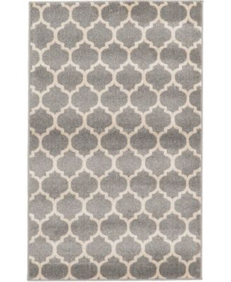 Arbor Arb1 Dark Gray 4' x 6' Area Rug