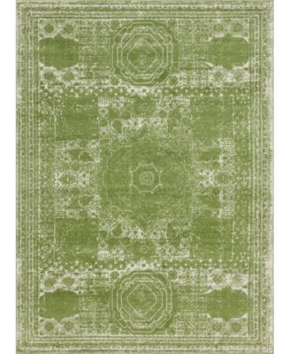 Mobley Mob2 Green 9' x 12' Area Rug