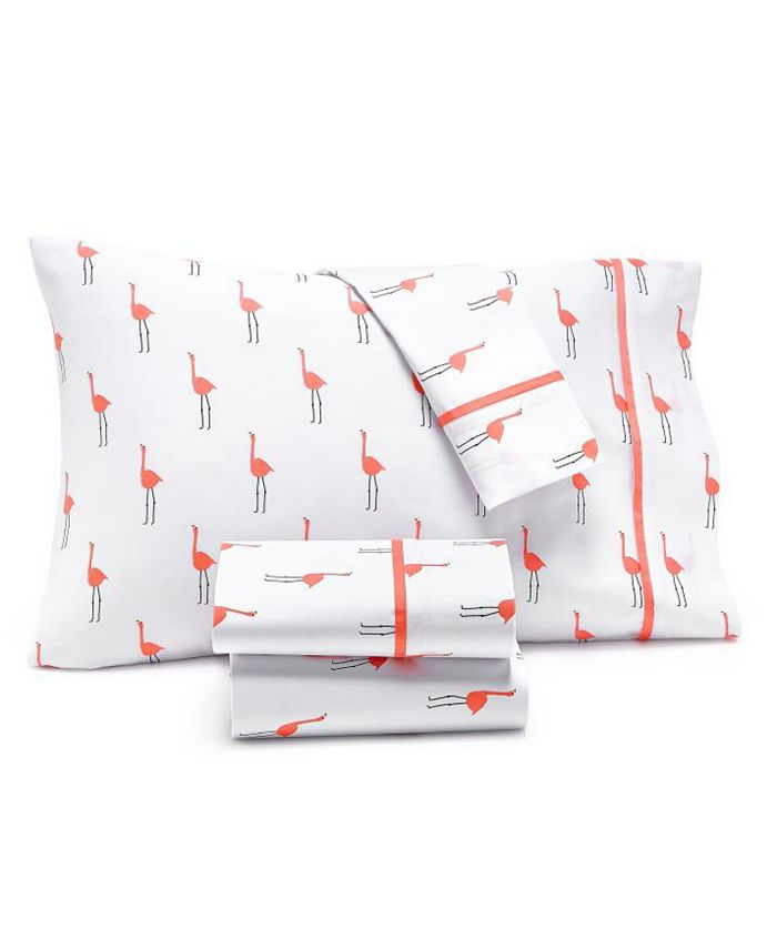 Martha Stewart Collection - Novelty Print Sheet Sets, 250 Thread Count 100% Cotton Percale, Created for Macy's