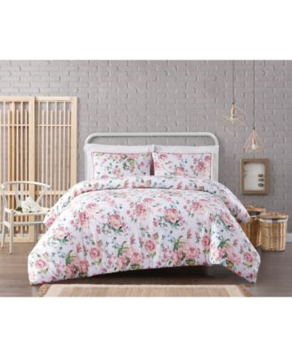 Cottage Classics Blooms Floral 3-Piece Comforter Set - King