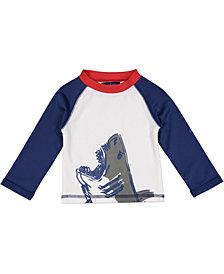 Andy & Evan Baby Boy's Shark Rashguard T-Shirt