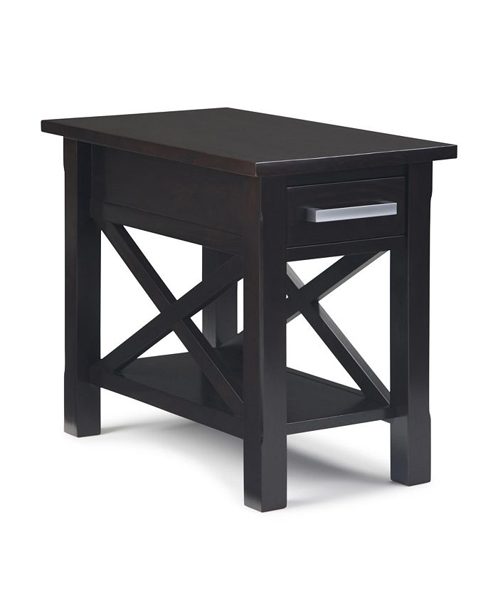 Simpli Home - Kitchener Side Table, Quick Ship