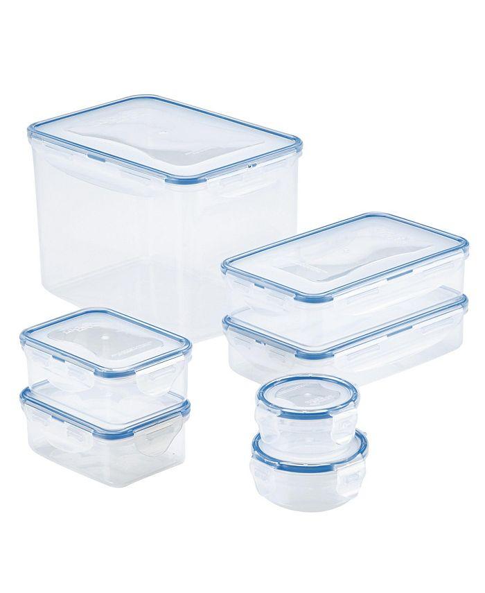 Lock n Lock - Easy Essentials™ Rectangular 14-Pc. Food Storage Container Set