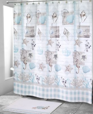 Farmhouse Shell Shower Curtain