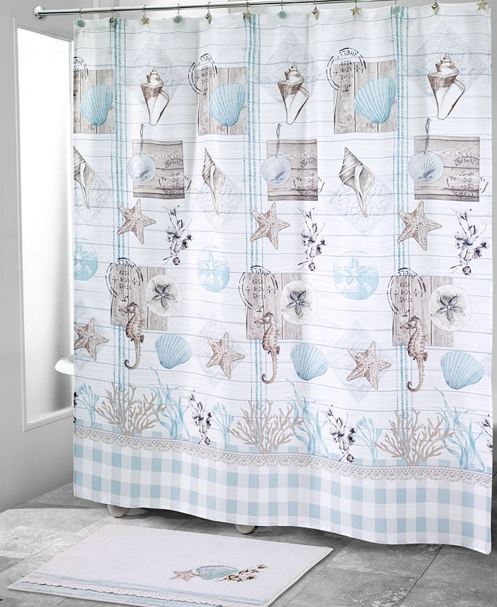 Avanti - Farmhouse Shell Shower Curtain