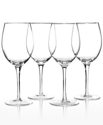 Lenox Stemware, Tuscany Classics White Wine Glasses, Set of 4