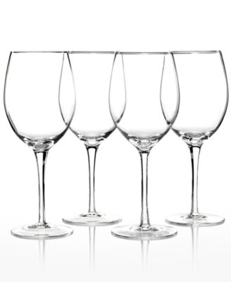 Lenox Stemware, Tuscany Classics White Wine Glasses, Set of 4