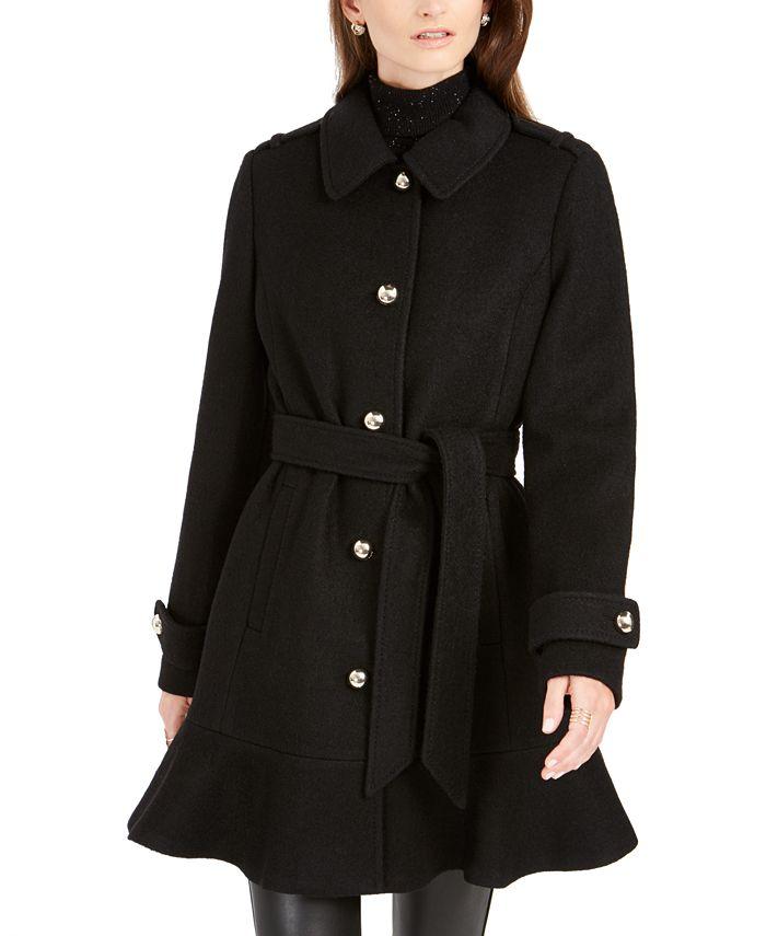 kate spade new york - Skirted Belted Coat