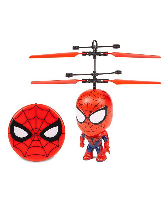 Marvel Spider-Man Flying Figure IR Helicopter