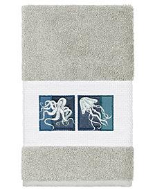 Linum Home 100% Turkish Cotton Ava Embellished Hand Towel