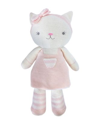 Ava Cat Knitted Plush Toy