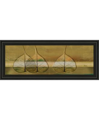"""Less Is More IV by Patricia Pinto Framed Print Wall Art - 18"""" x 42"""""""