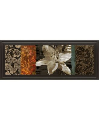"""Evanescent I by Keith Mallet Framed Print Wall Art - 18"""" x 42"""""""