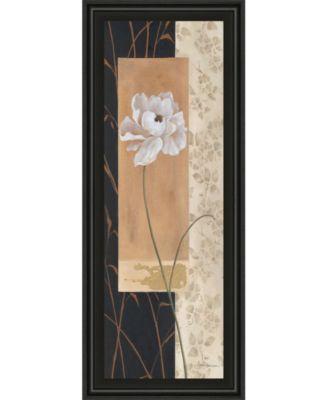 "Black and Gold I by Carol Robinson Framed Print Wall Art - 18"" x 42"""