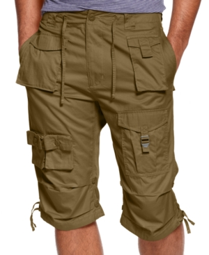 Sean John Shorts Classic Flight Cargo Shorts