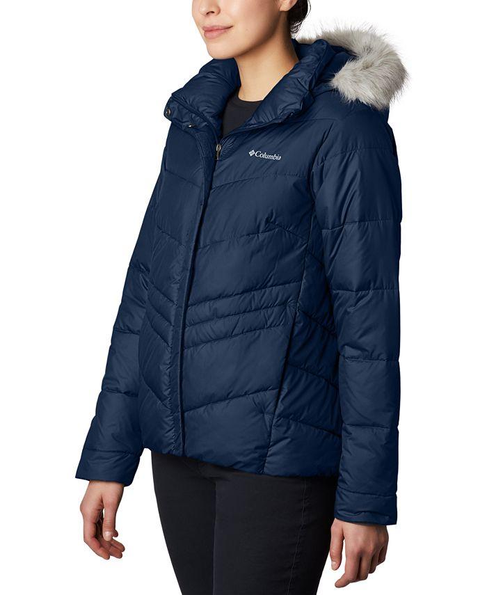 Columbia - Peak To Park Insulated Faux-Fur-Trim Jacket