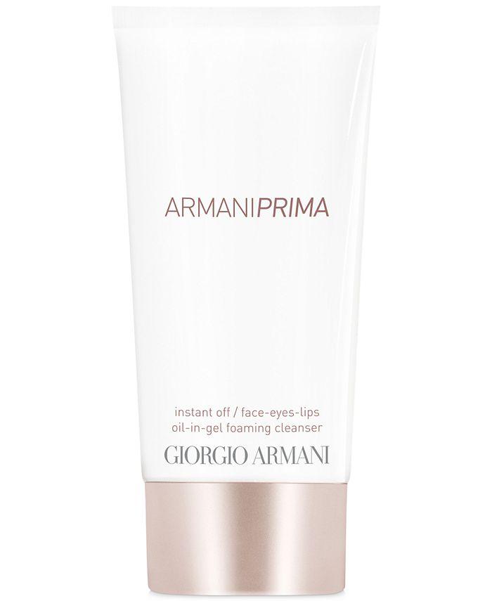 Giorgio Armani - Armani Prima Oil-In-Gel Foaming Cleanser, 5.1-oz.