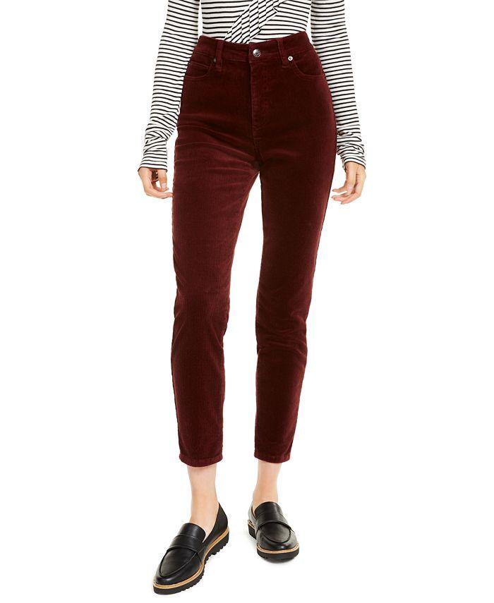 OAT - High-Rise Corduroy Skinny Jeans