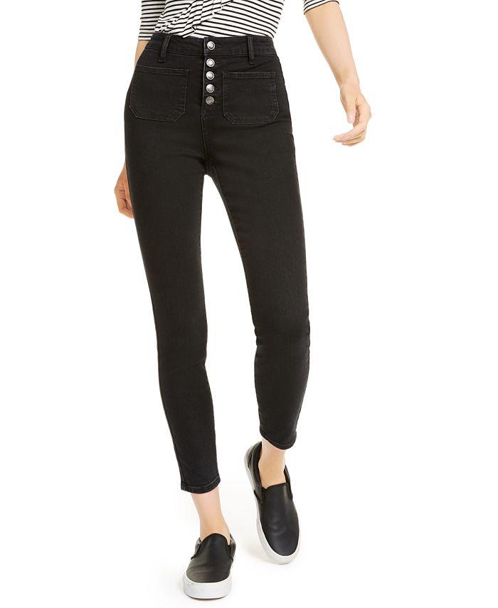 OAT - High-Rise Sailor Skinny Jeans