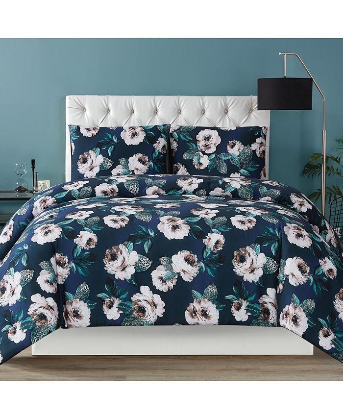 Christian Siriano New York - Mags Floral King Comforter Set
