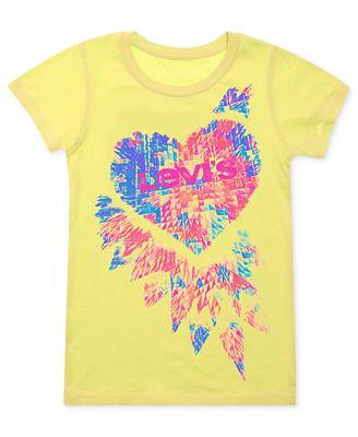 Levi 39 s kids t shirts girls graphic tees kids macy 39 s for Graphic t shirts for kids