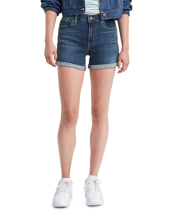 Levi's - Cuffed Baileya Root Wash Denim Shorts