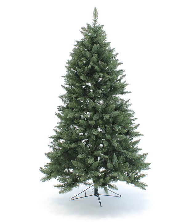 Perfect Holiday 7.5' Pre-Lit Christmas Tree with Clear LED Lights