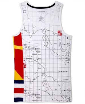 Rocawear TShirt Run the Map Tank Top