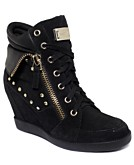 GUESS Womens Hitzo Wedge Sneakers Womens Shoes
