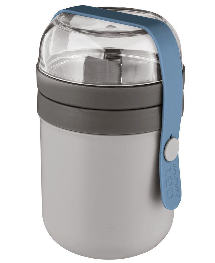 BergHOFF - Leo 0.5qt Dual Lunch Pot, Grey and Blue