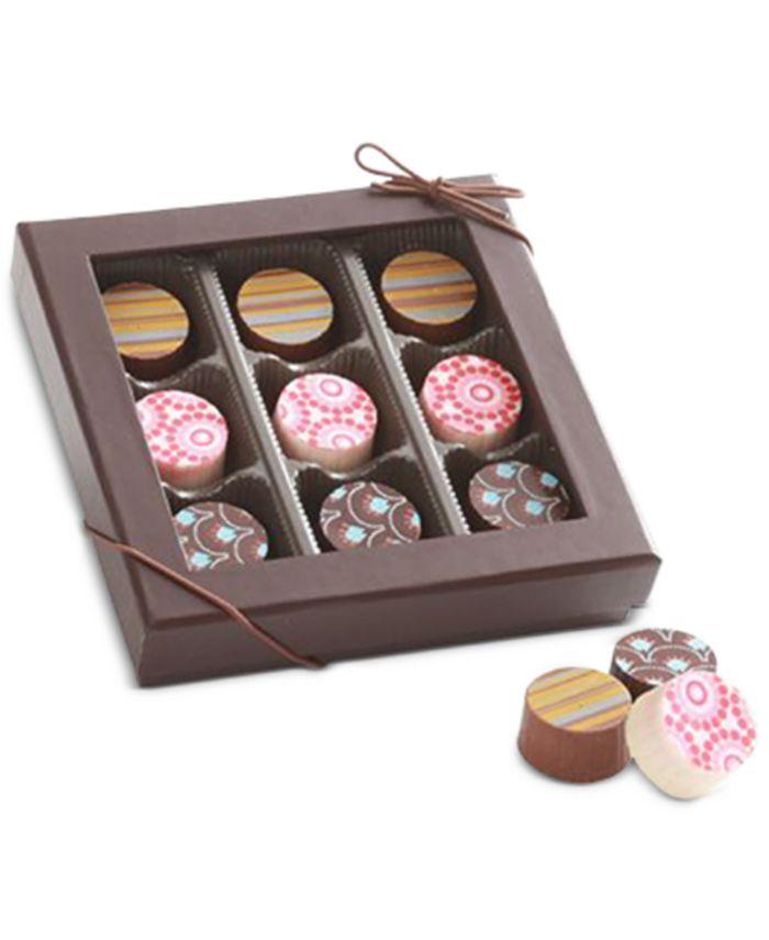 Chocolate Works - 9-Pc. Truffle Gift Box