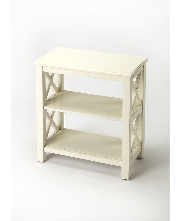Butler Vance Cottage White Bookcase