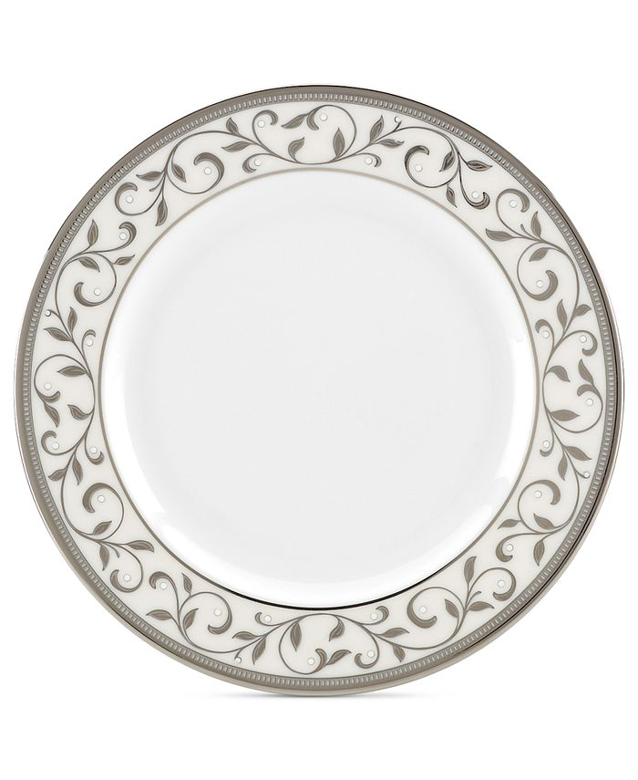 Lenox - Opal Innocence Silver Appetizer Plate