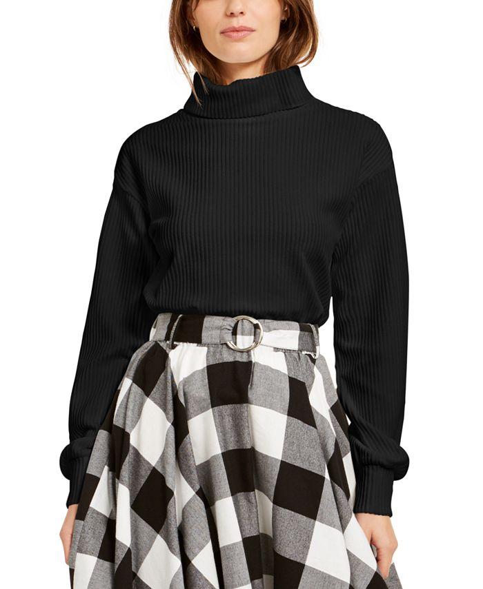 Bar III - Corduroy Turtleneck Sweater