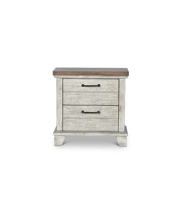Steve Silver Mason 2 Drawer Nightstand Reviews Furniture Macy S