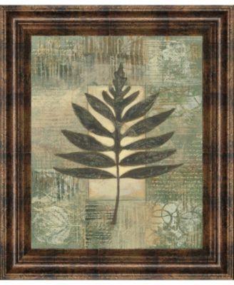 "Leaf Textures I by Norman Wyatt, Jr. Framed Print Wall Art, 22"" x 26"""